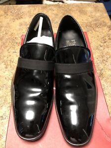 Salvatore Ferragamo black leather shoes size 8.5