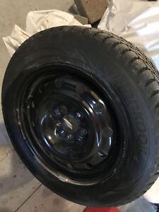 Winter tires off Honda Accord
