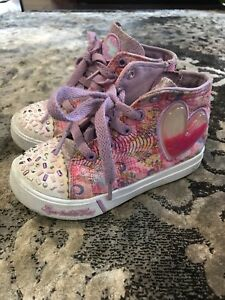 Skechers Twinkle Toes High-tops Size 10