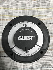 Guest Marine Battery Switch