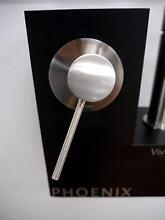 New Phoenix Vivid Slimline Brushed Nickle Shower / Wall Mixer Melbourne CBD Melbourne City Preview