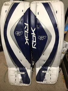 Ice hockey goalie pads 37s plus blocker  and glove reduced