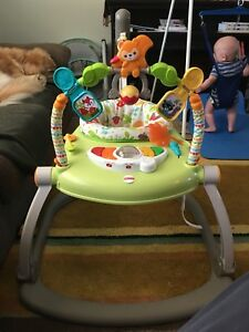 Fisher Price Bouncer and Swing EUC