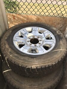 F250/F350 winter rims and tires on K/R rims