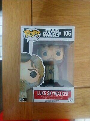 Star wars funko pop poe Dameron and luke skywalker