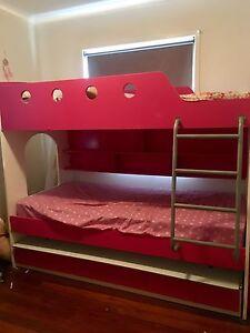 Kids pink bunk beds Slacks Creek Logan Area Preview