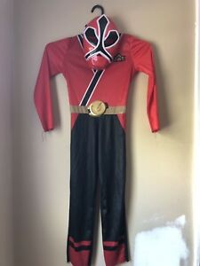 Red Power Ranger Halloween Costume