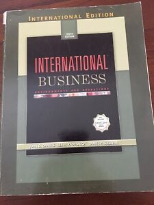 Textbook - International Business 10th Ed Wavell Heights Brisbane North East Preview