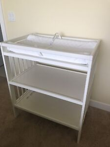 IKEA changing table + changing pad Summer