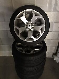 Ford Falcon FG XR6 snowflake wheels X 4 Yeerongpilly Brisbane South West Preview