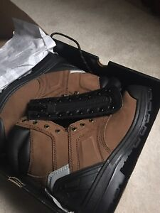 "Brand new in box Overtime 8"" Dickies work boots size 9"