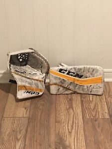 CCM Glove and Blocker