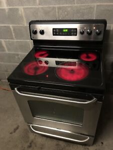 Stainless steel ceramic stove - delivery possible