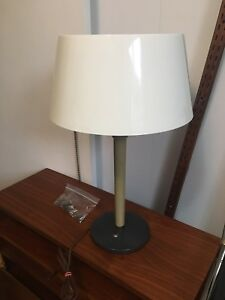 Mid century modern Gerald Thurston table lamp for Lightolier