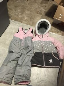 Toddler girl 2t snow suit