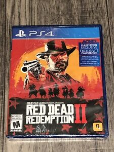 Red Dead Redemption 2 for PS4 (Brand New, SEALED)