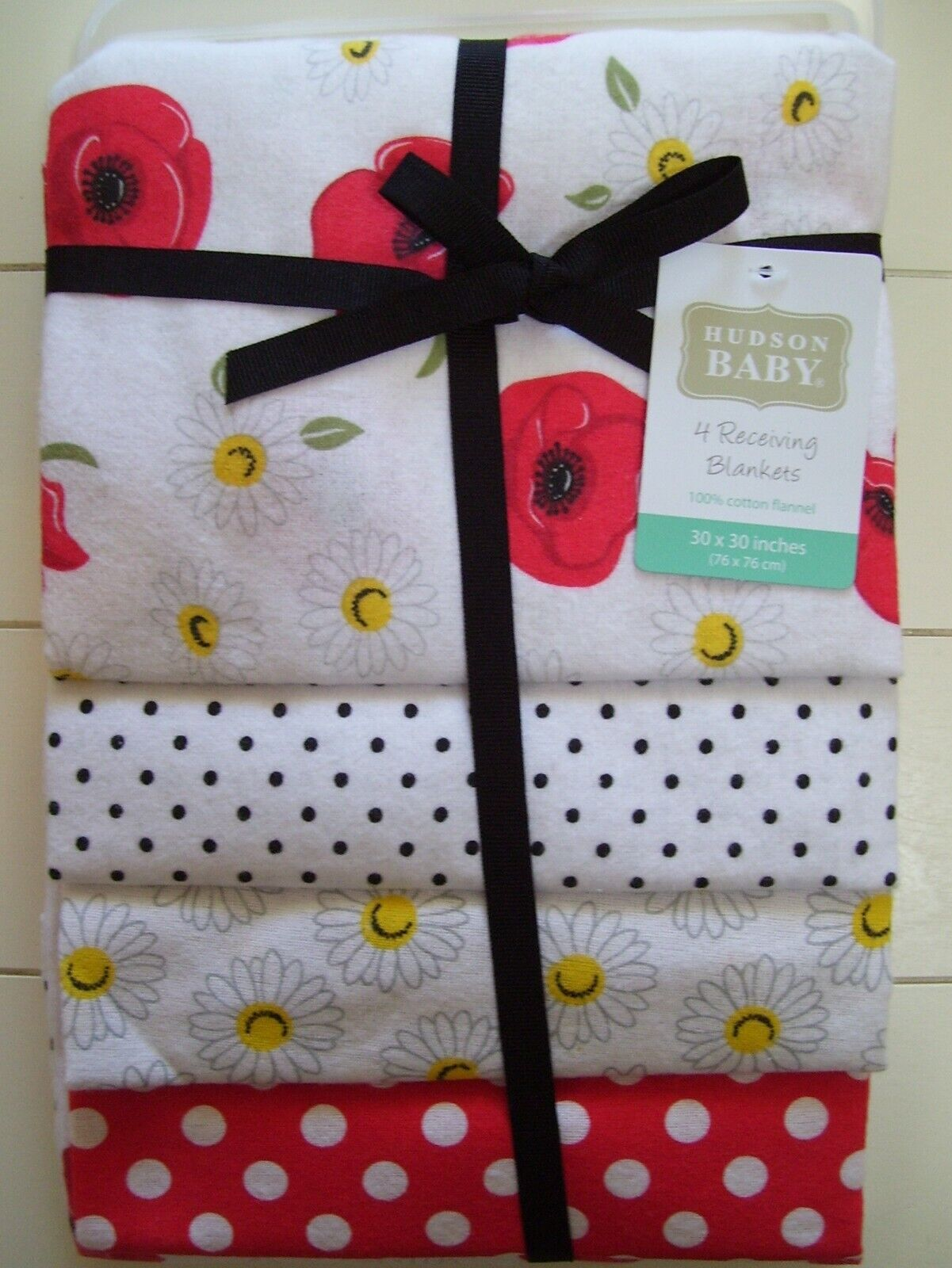 girl 4 pack red daisy dot pansy