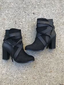 Black ankle boots for sale