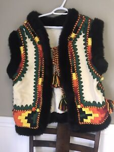 Ukrainian dance vest handmade