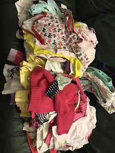 Mixed baby clothes