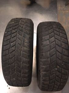 Two 205/60r16 hankook winter