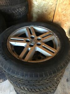 215 60R17 Winter Tires & Dodge Caravan Wheels