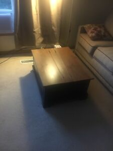 Recently Reduced - Coffee Table For Sale - Great Storage Space