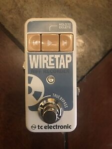 Te helicon wiretap riff and song recorder