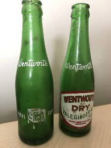 ANTIQUE WENTWORTH DRY BOTTLES