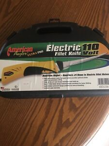 BRAND NEW!!  American Angler 110volt electric fillet knife