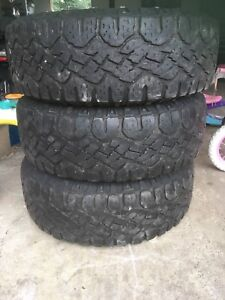 245/75R16 tires and rims