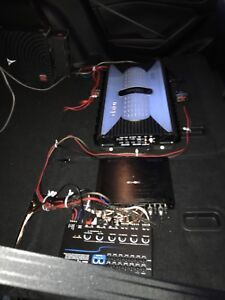SUBWOOFER AND AMPLIFIER INSTALLATION
