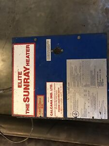 Sunray elite shop heater 40 feet