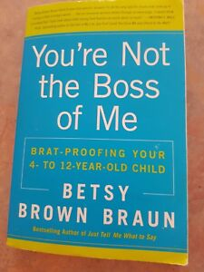Book you are not the boss of mer