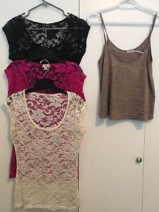 Tops and sweaters for sale!