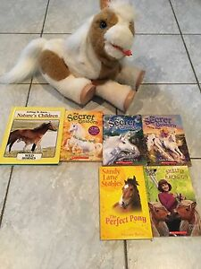 Horse and books -Kingsville