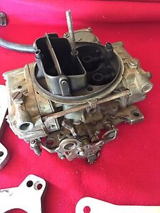 Holley Carb and adapter plates + Air Cleaner Shoalwater Rockingham Area Preview