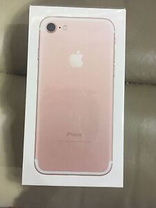 iPhone 7 brand new 32gb rose gold unlock sealed in the box Prospect Prospect Area Preview