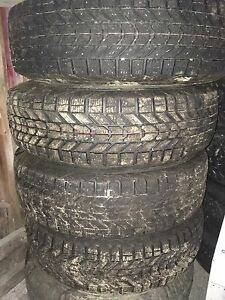 Winter tires for ford ranger 215/75/15