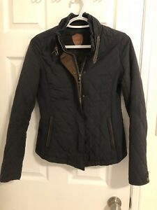 Quilted lightweight navy jacket - size x-small/small