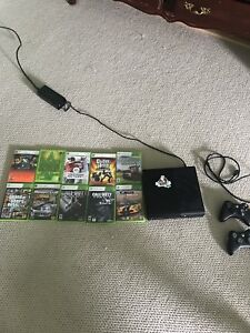 XBOX 360 With 13 games 3 controllers