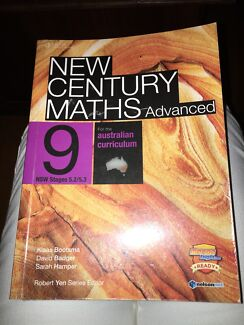New Century Maths Advanced 9 stages 5.2/5.3