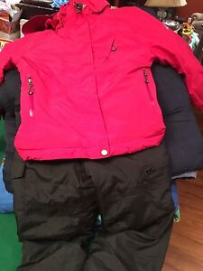 Girls ski coat and pants