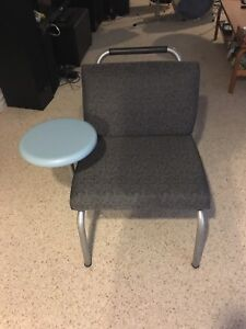 CHAIR WITH SIDE TABLE