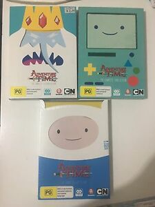 Adventure Time DVD's Seasons 1-3 Angaston Barossa Area Preview