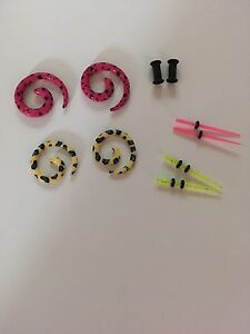 Ear Tapers, Spirals and Plugs