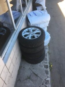 Mazda 6 winter tire package