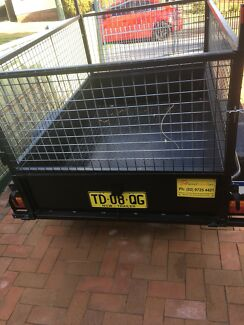 6x4 trailer with cage for hire $30 per day charge