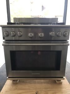 """Commercial Electrolux Icon 36"""" Duel Fuel Range (7yrs old)"""