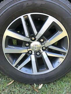 Hilux SR5 - Rims and Tyres